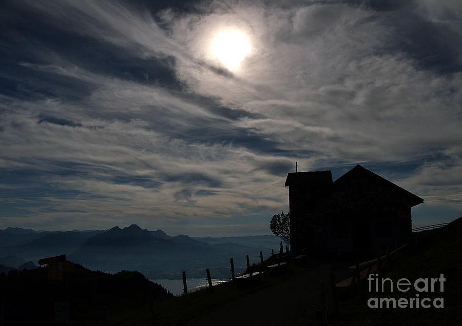 Sun Photograph - When The Sun Goes Down... by Svetlana Peric