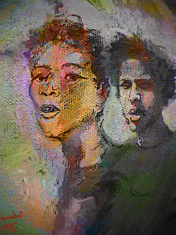 Human Composition Painting - Where Are We Going by Noredin