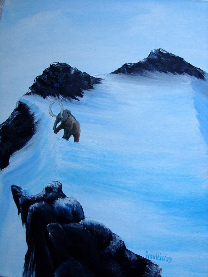 Animal Painting - Where Art Thou by Glory Fraulein Wolfe