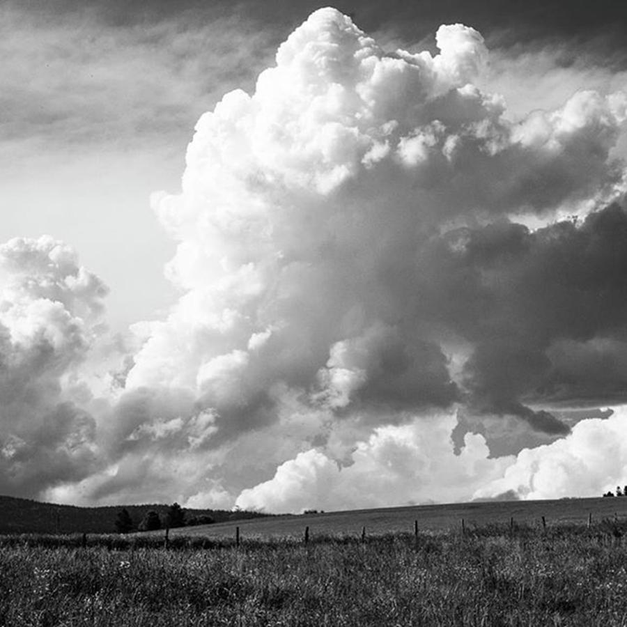 Cloudformation Photograph - Where Clouds Billow And Roll by Aleck Cartwright