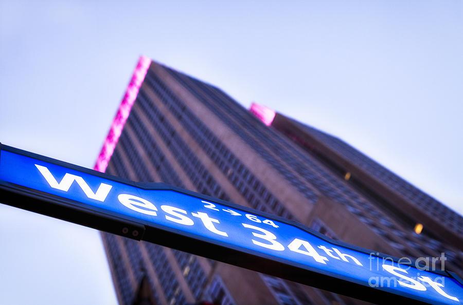 New York Skyline Photograph - Where Dreams Are Made by John Farnan