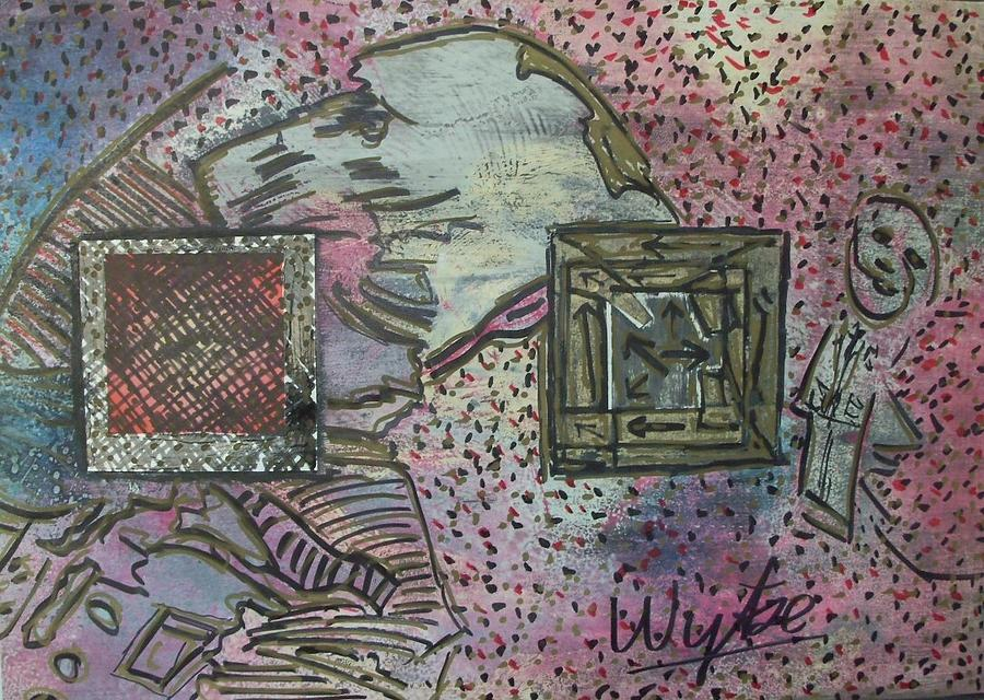 Doors Mixed Media - Where Has My Doggie Gone by Wytse