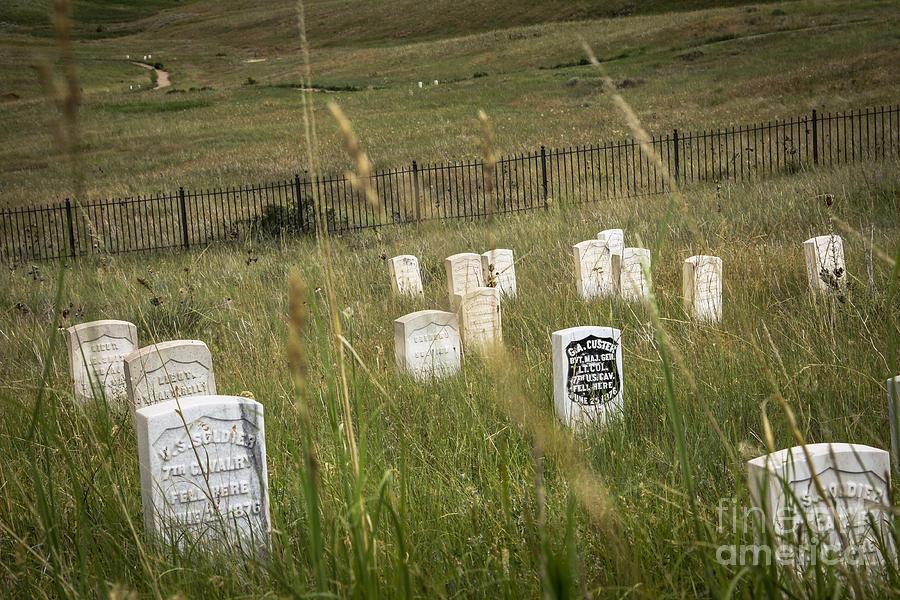 Landscape Photograph - Where He Fell by Sandy Adams