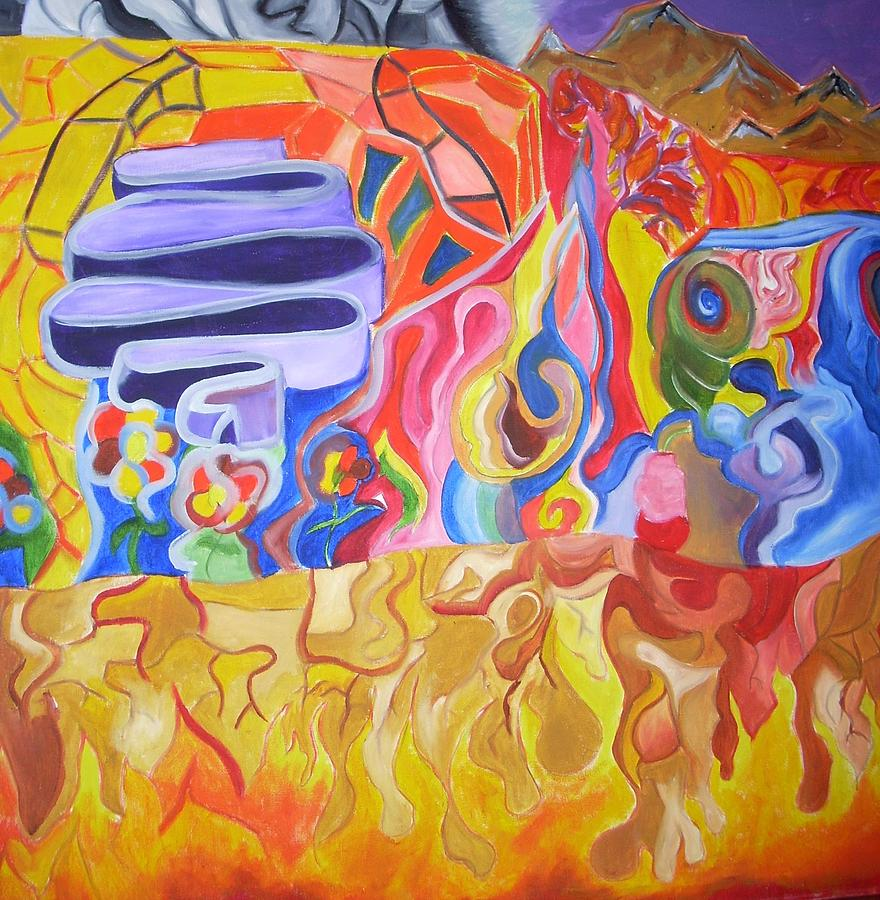 Where Painting by Joseph  Arico