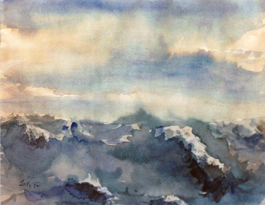 Where Sky Meets Ocean Painting