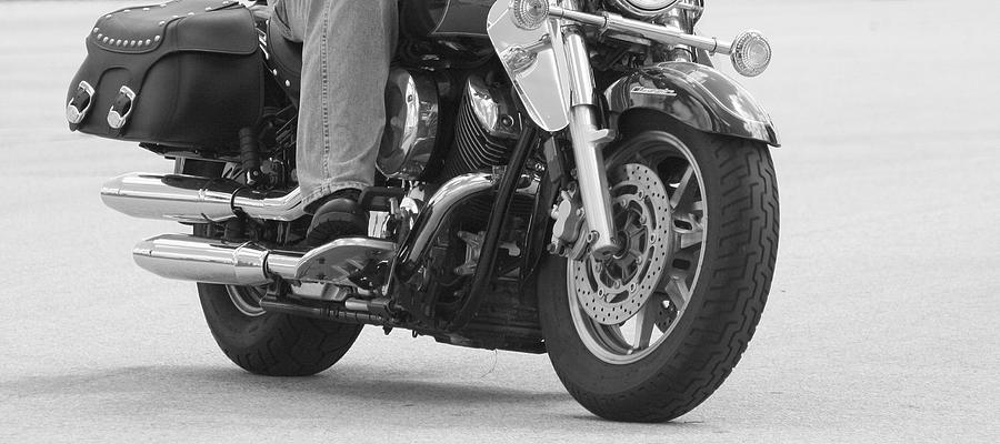 Motorcycle Photograph - Where The Rubber Meets The Road by Susan Hawk