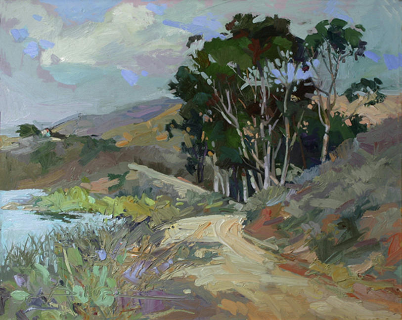 ...song Of Birds ...plein Air Painting by Betty Jean Billups