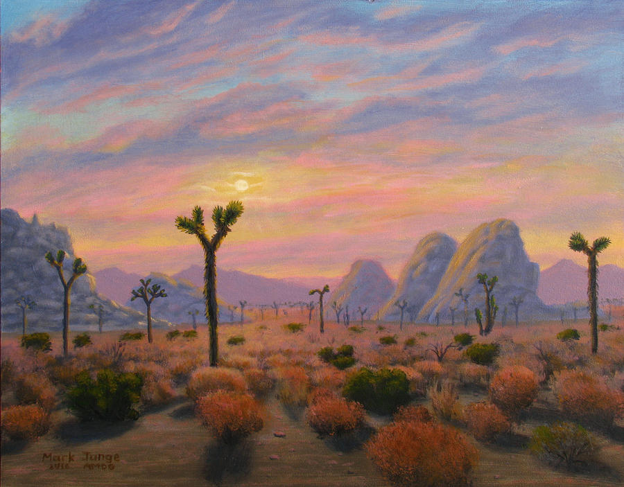 Painting Painting - Where The Sun Sets by Mark Junge