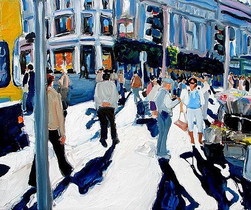Dublin Painting - Where Was I Going by Caoimhghin OCroidheain