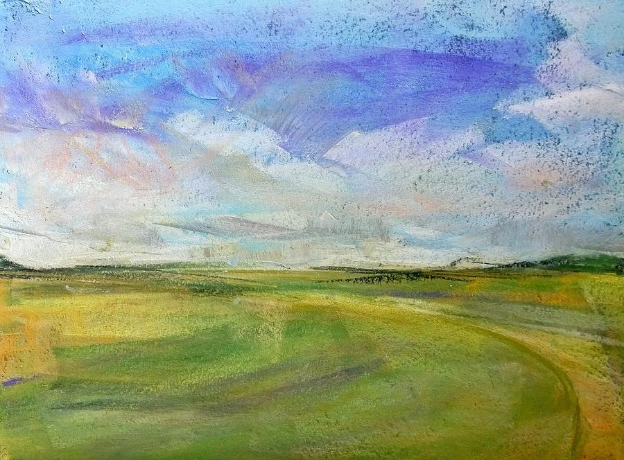 Landscape Pastel - Where We Walk by Lisa Dionne
