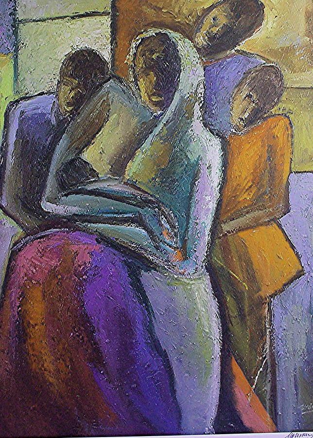Family Print - Wheres Dad by Ephraim Urevbu