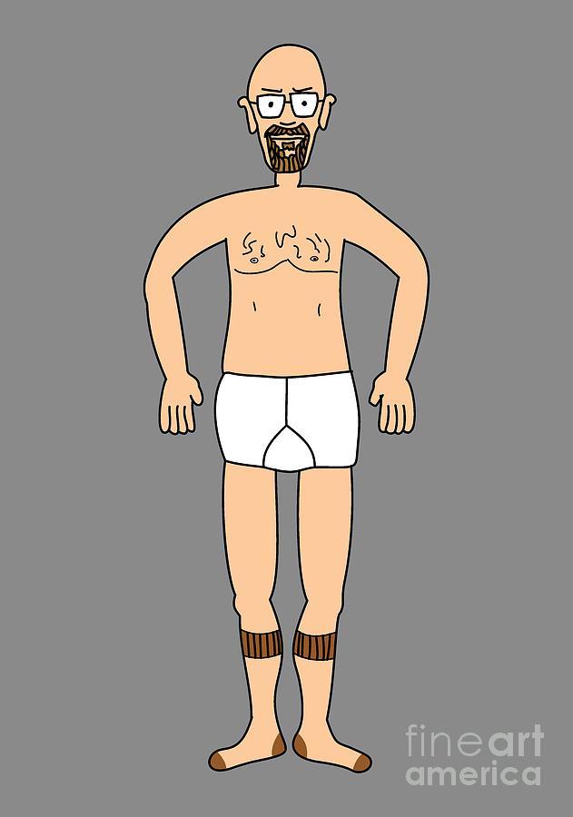 Bryan Cranston Digital Art - Wheres Walter Fugue State - Wheres waldo- Wheres wally - Breaking Bad Parody by Paul Telling