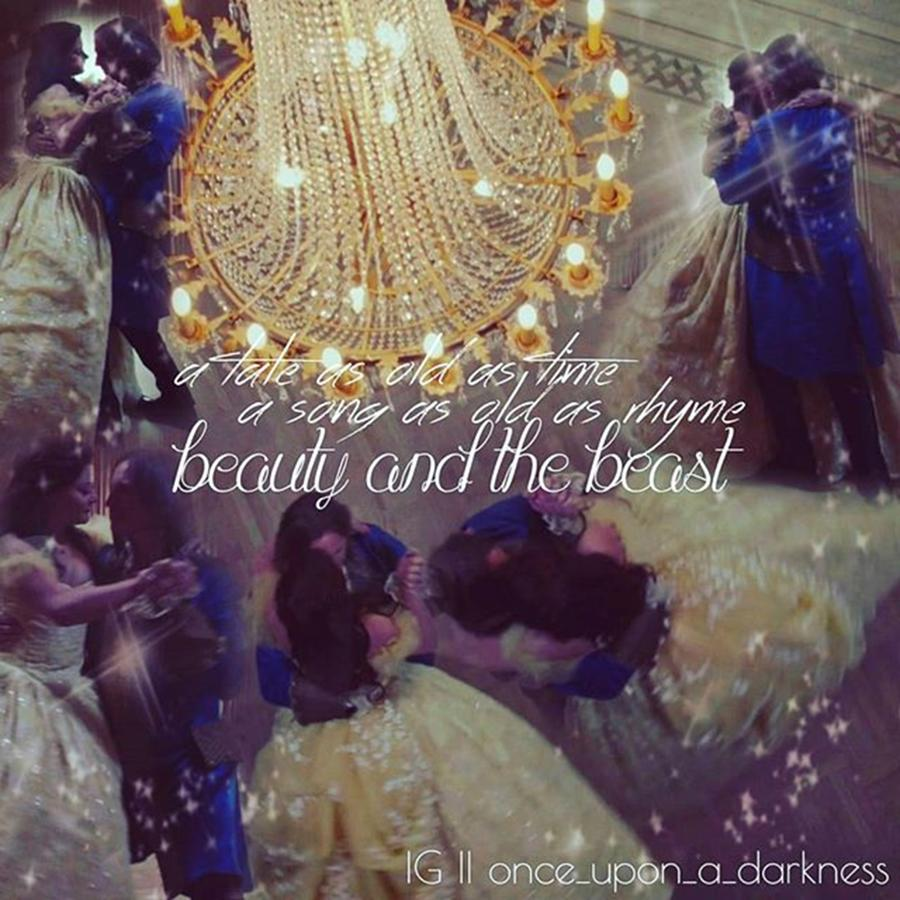 Ouat Photograph - Beauty and the beast dance by Kay Klinkers