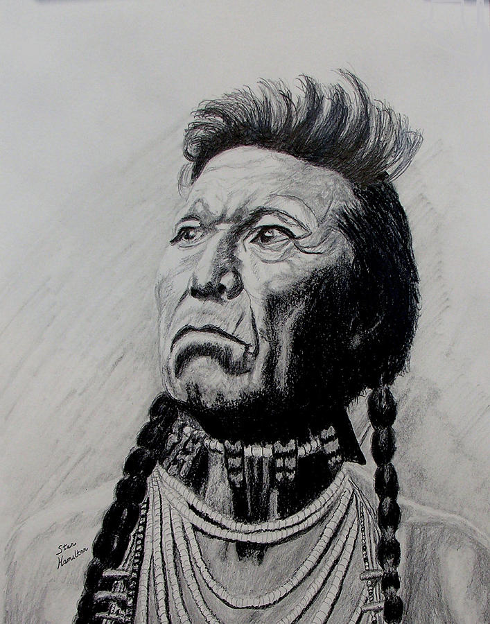 Indian Drawing - Whirlwind by Stan Hamilton