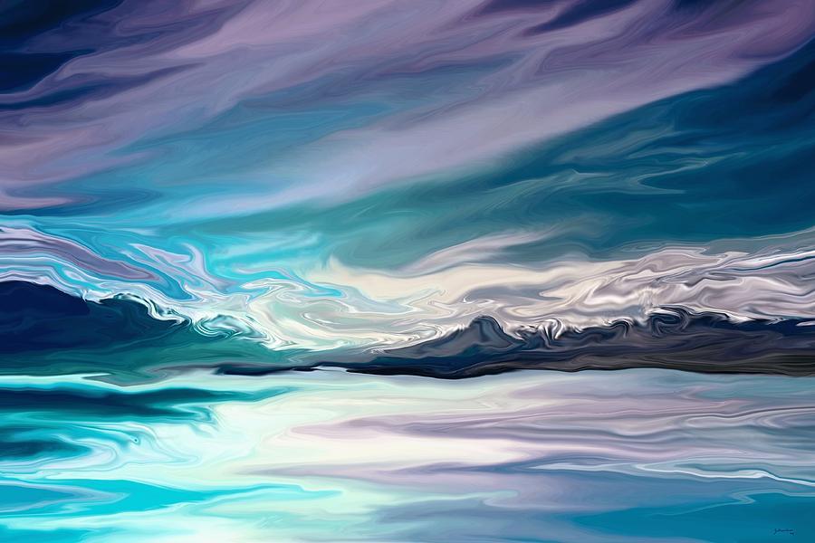 Landscape Painting - Whisper by Amanda Schambon