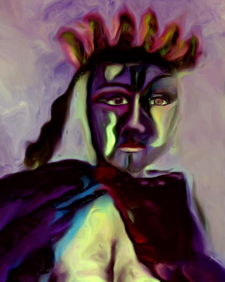 Whisper Painting - Whisper by Shelley Bain