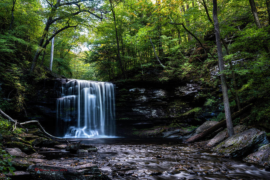 Pennsylvania Photograph - Whispering Falls by Marvin Spates