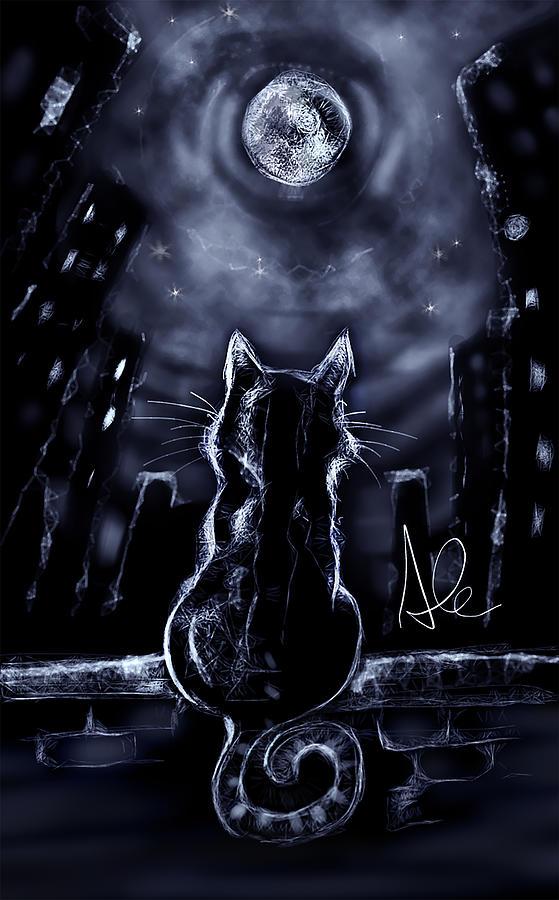 Whispering to the Moon by Alessandro Della Pietra