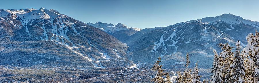 Whistler Blackcomb Ski Resort Photograph