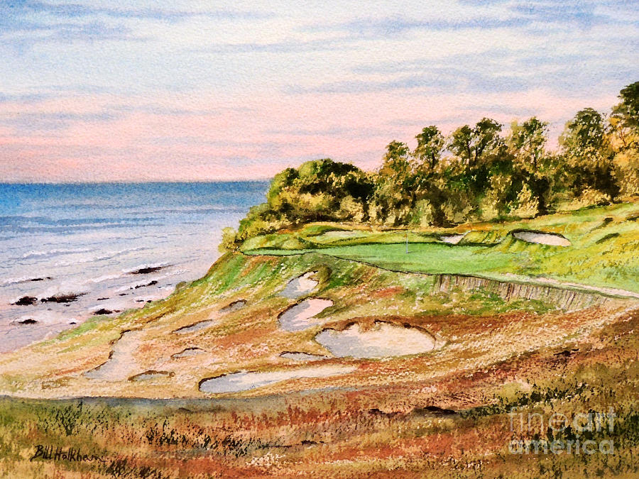 Whistling Straits Golf Course 17th Hole Painting