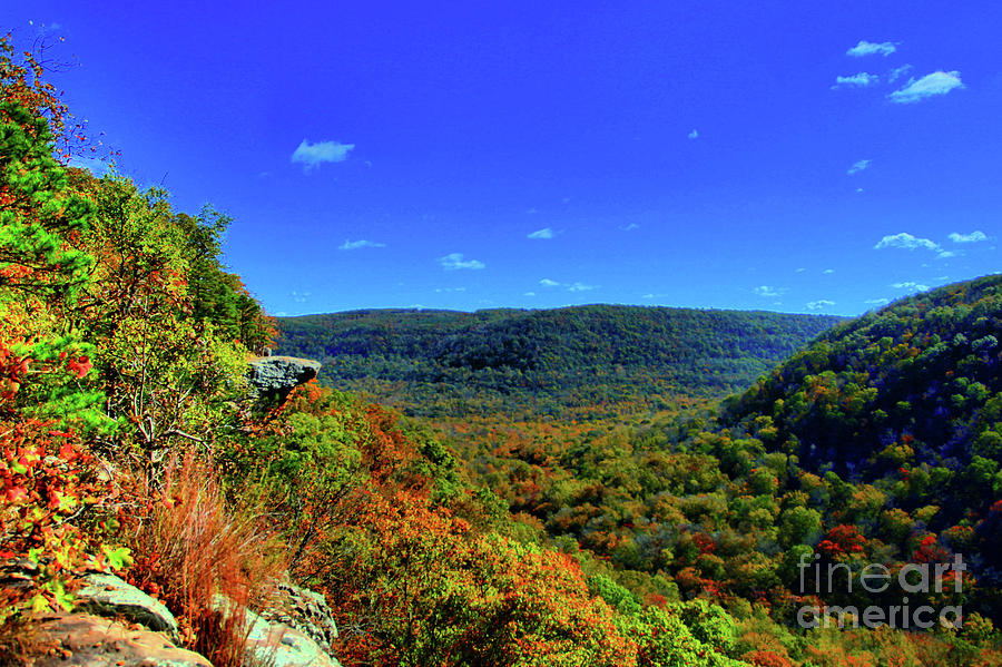 Arkansas Photograph - Whitaker Point by Kevin Kuchler