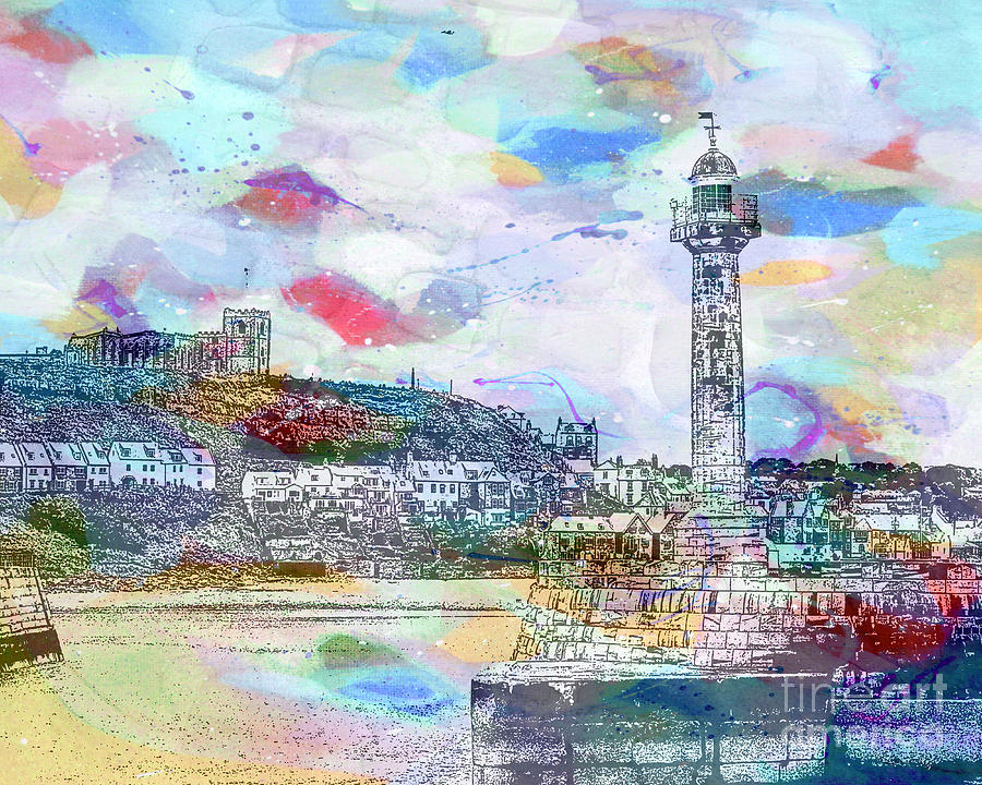 Whitby Harbour by Tracy-Ann Marrison