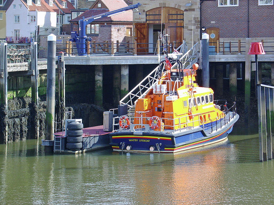 Europe Photograph - Whitby Lifeboat by Rod Johnson