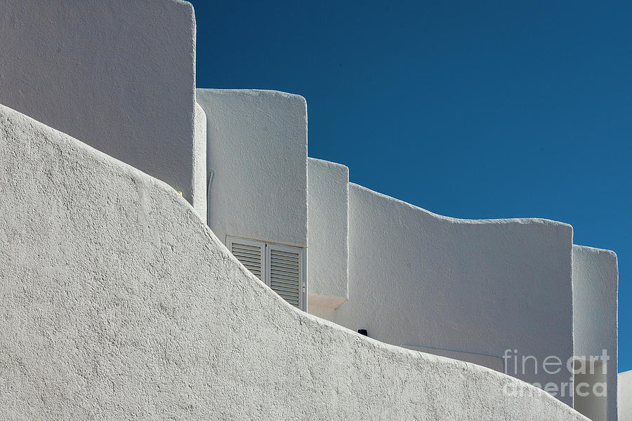 White Andalusian Architecture Photograph
