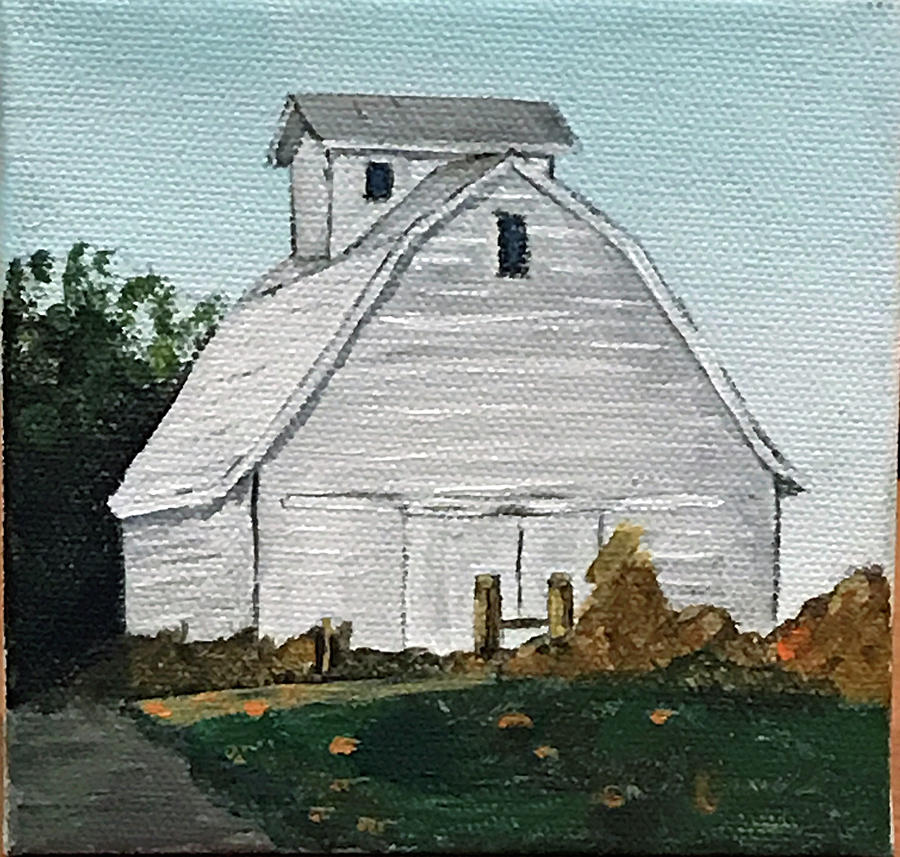 White Barn by Kevin Callahan