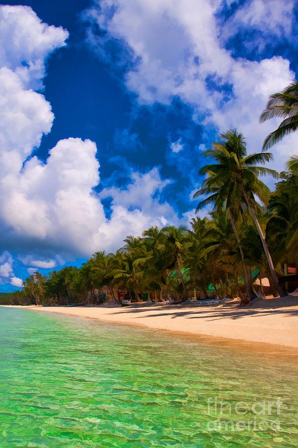 Asia Photograph - White Beach Boracay by Joerg Lingnau