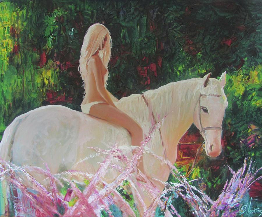 Ignatenko Painting - White Captivity by Sergey Ignatenko