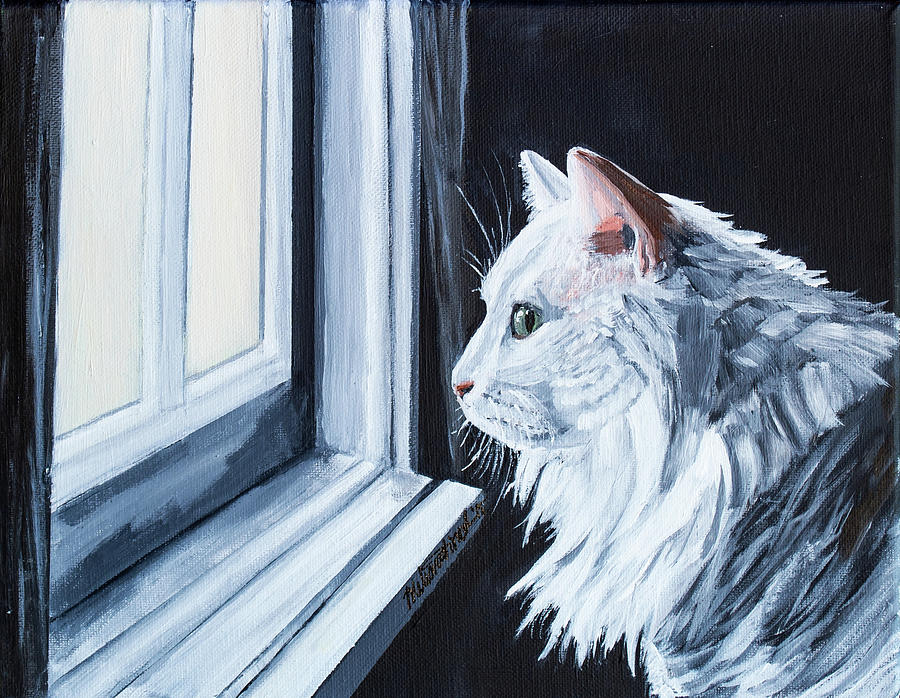 White Cat by MKD Lincoln