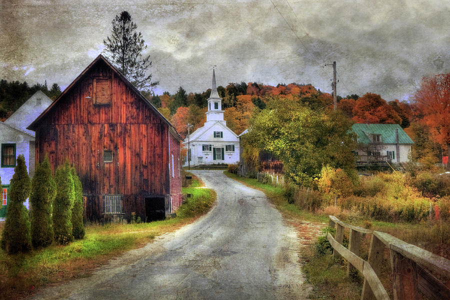 Fall In New England Photograph