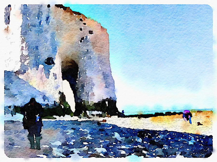 White Cliffs by Wendy Le Ber