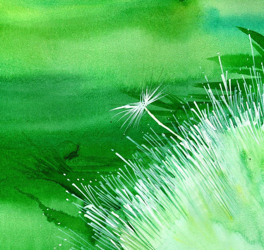 Flowers Painting - White Flower by Anil Nene