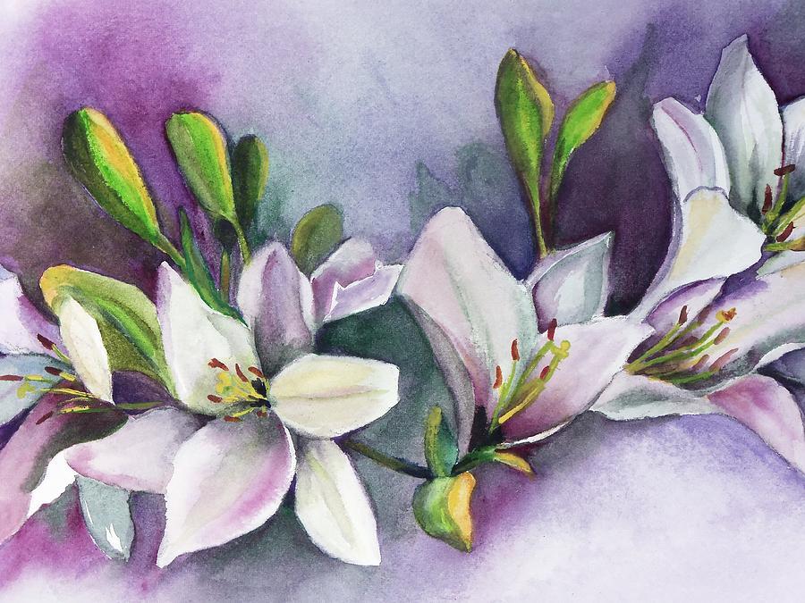 White Flower by Marsha Woods