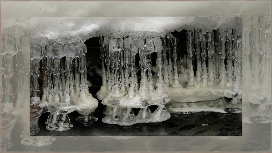 Winter Photograph - White Grotto. by Doug Bratten
