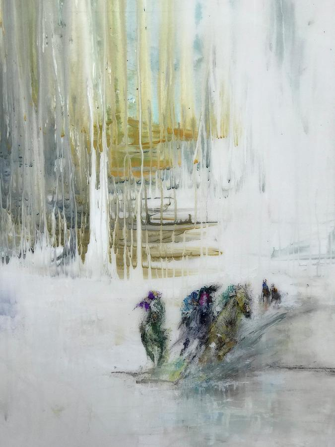 White Painting by Heather Roddy