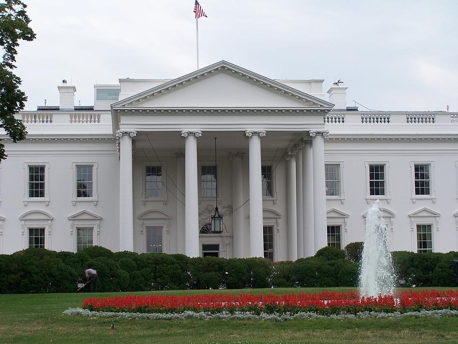 White House Photograph - White House by Vijay Sharon Govender
