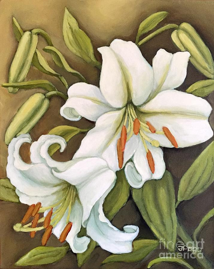 White Lilies by Inese Poga