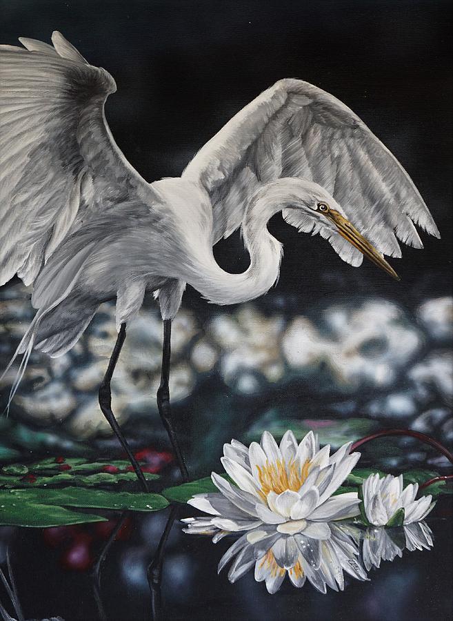 White Lily by Katie McConnachie