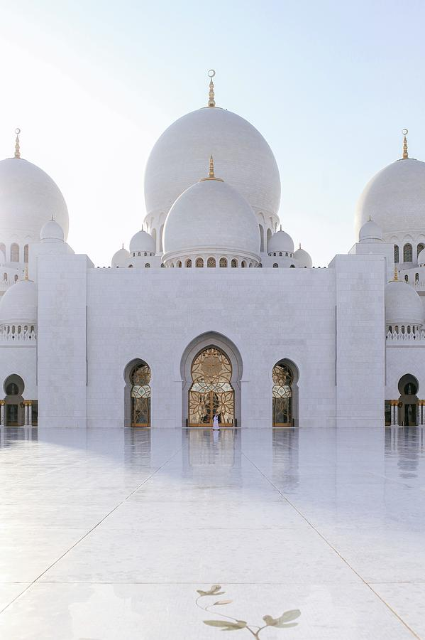 White Mosque Photograph by Ryan Miglinczy