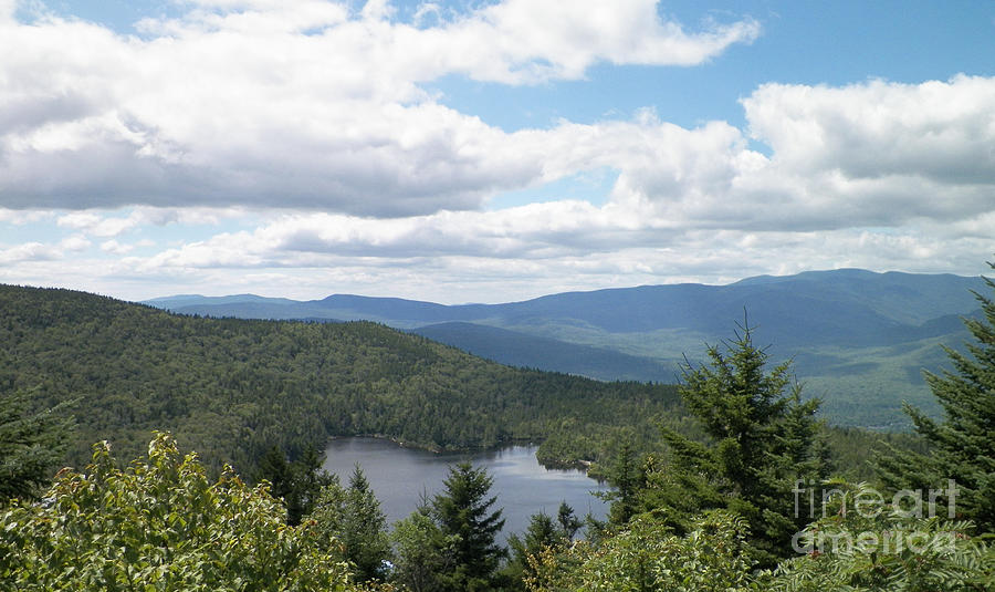 New Hampshire Photograph - White Mountains by Gina Sullivan