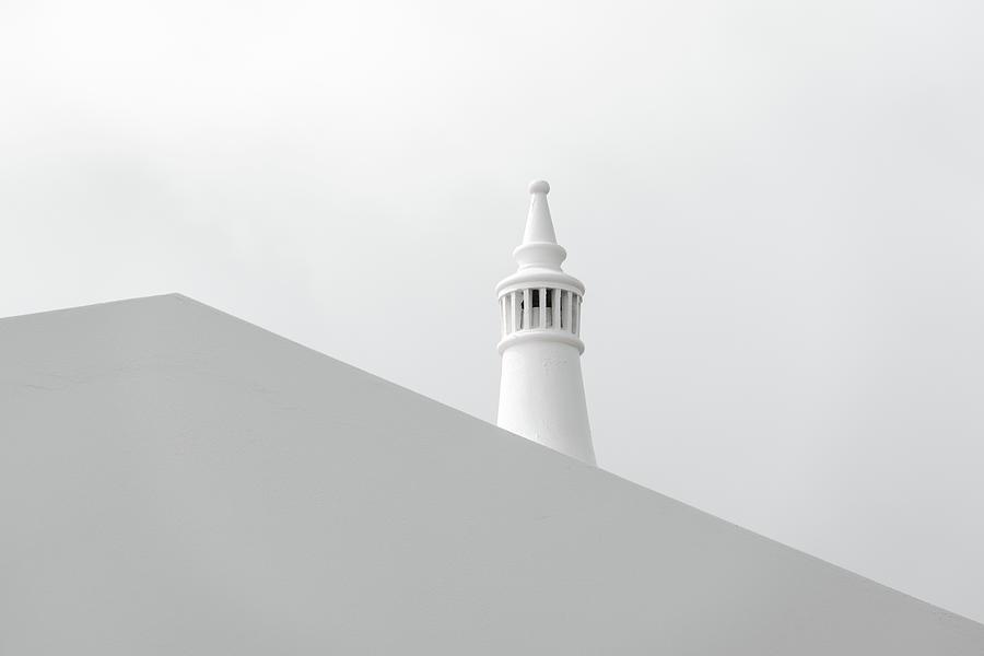 White on White Simplicity - by Georgia Mizuleva