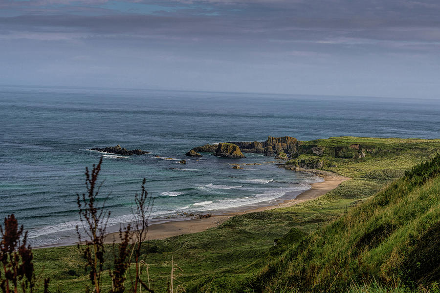 White Park Bay Beach by Elvis Vaughn
