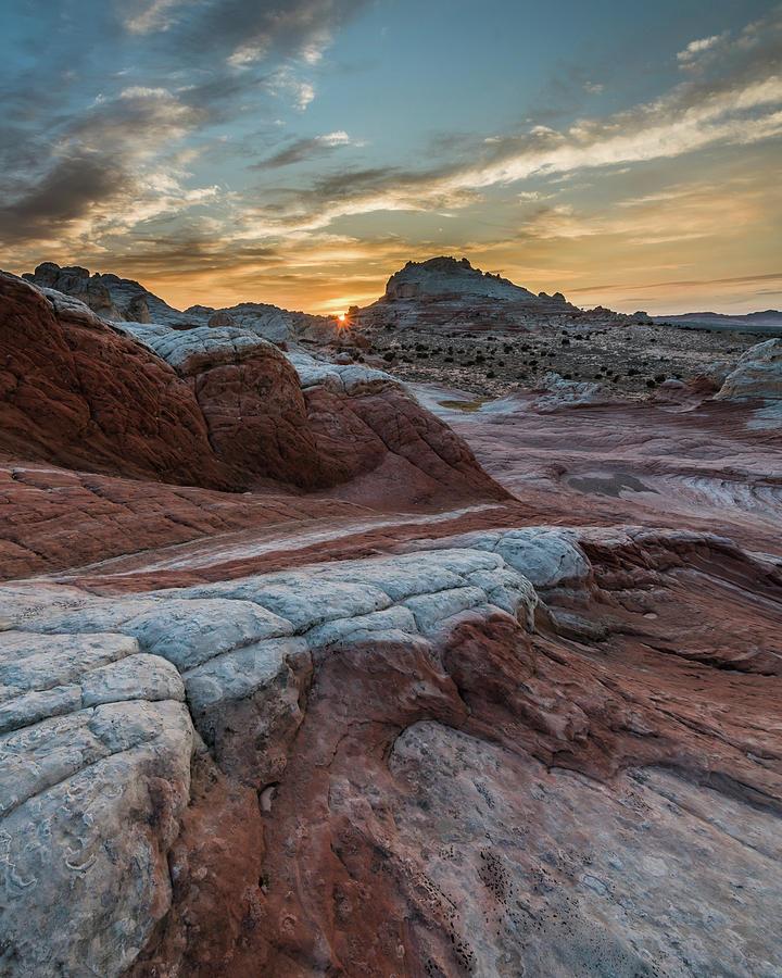White Pocket Sunset by Chuck Jason
