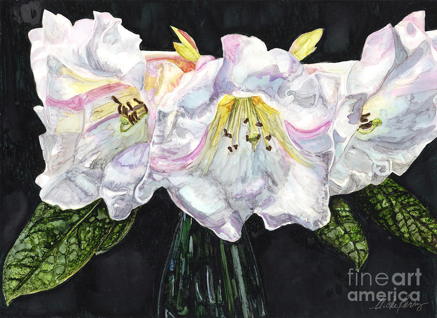 White Rhodies by Vicki Baun Barry