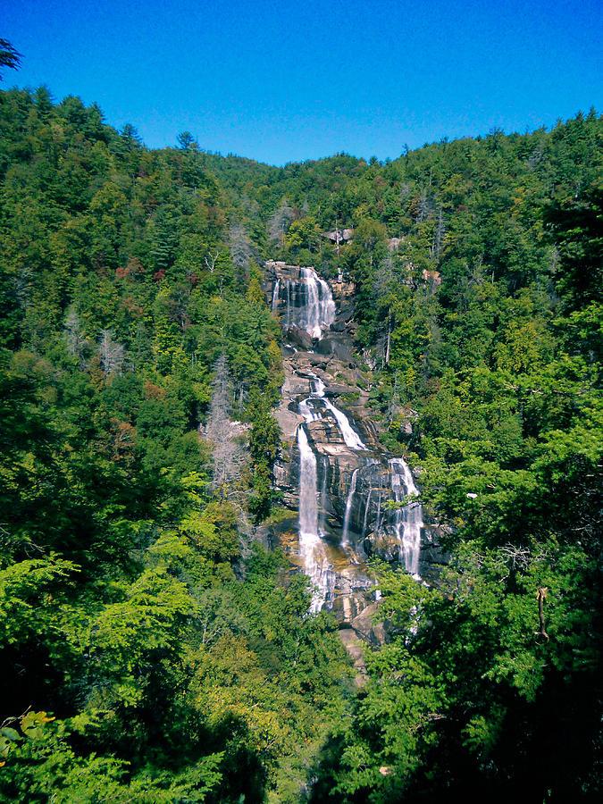 North Carolina Photograph - White River Falls by Tom Zukauskas