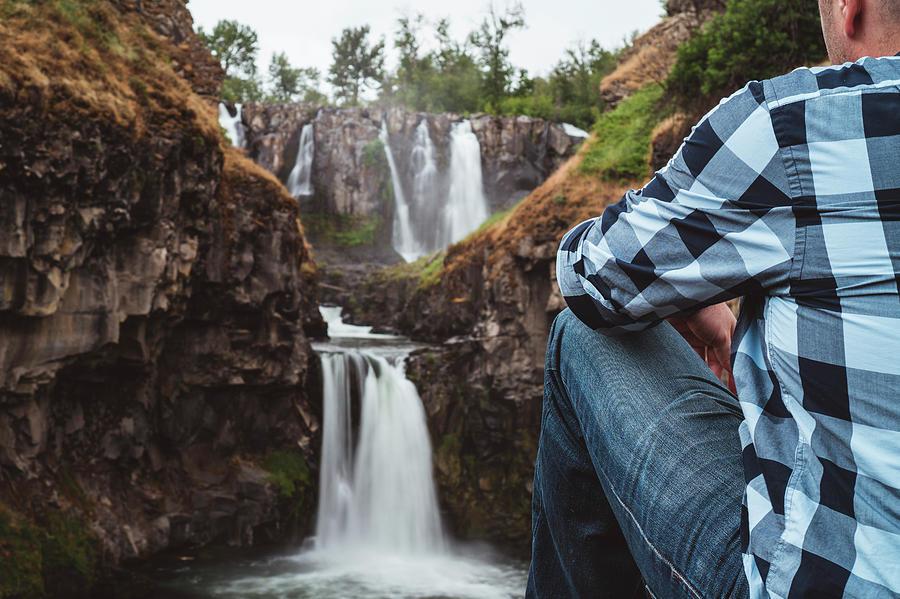 White River Falls Photograph
