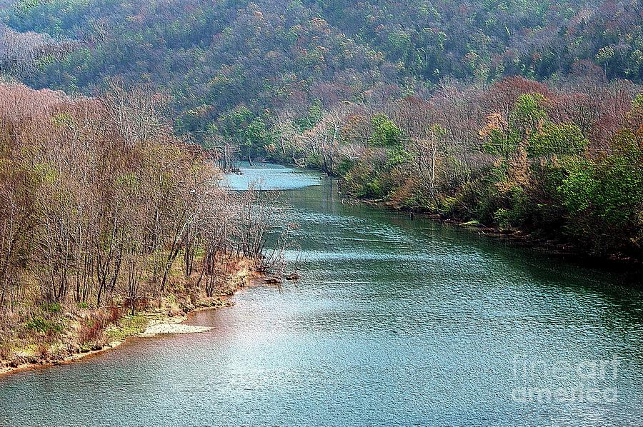 White Photograph - White River by Kathleen Struckle